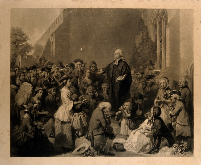 john_wesley_preaching_outside_a_church-_engraving-_wellcome_v0006868