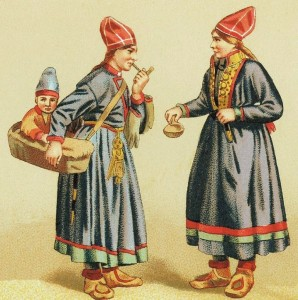 Sami_women_child_costumes_Sweden_1880