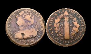 Louis_XVI_Æ_Double_sol_1793_France_coin